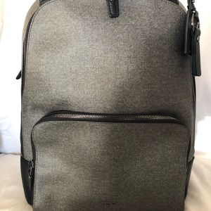 Hudson backpack-Varek-Tumi-Earl Grey